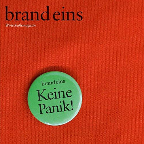 brand eins audio: Panik audiobook cover art
