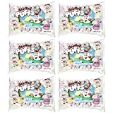 Stuffed Puffs – Classic Milk Chocolate Pastel Easter Singles 6 Pack, Chocolate Filled Marshmallows, Perfect for Easter Egg Hunts, 6 Bags (6.5oz each) w/ 10 Stuffed Puffs per bag