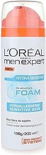 L'Oreal Men Hydra Sensitive Shaving Foam, 200ml