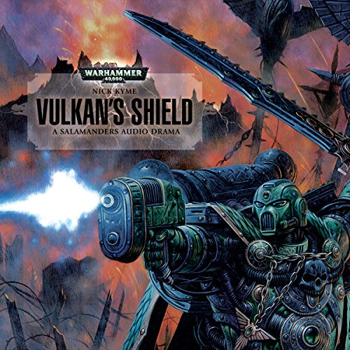 Vulkan's Shield audiobook cover art