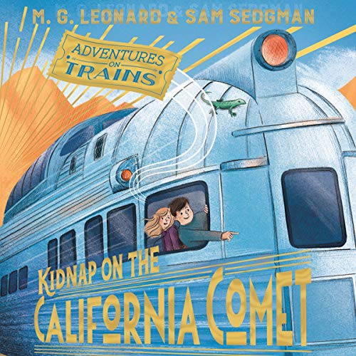 Kidnap on the California Comet cover art