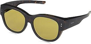 نظارة شمسية للجنسين من بولارويد 201030 - اللون: هافانا مطفي، المقاس: 56