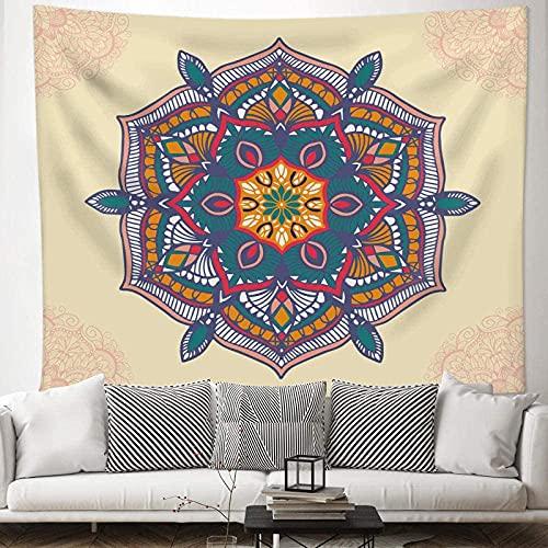 Arazzi e tappezzeria Arazzo della parete della mandala della mandala del tessuto della mandala della mandala Tappezzeria della parete del boho per la camera da letto Wallcloth Tapestry per la stanza