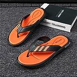 HLDETH Zapatillas, ropa exterior para hombre, sandalias de verano, baño, desodorante antideslizante, chanclas de playa, sandalias (Color : A, Size : 43)
