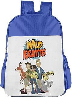Children's School Bag Wild Kratts Logo Personalized Fashion Customization Pink