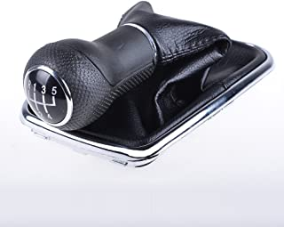 5-Speed Manual Transmission Gear Shift Knob Boot Gaitor For 1999-2005 VW Mk4 Golf / GTI / R32 1999-2004 VW Mk4 Jetta / Bora