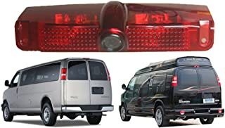 Navinio Car Third Roof top Mount Brake lamp Camera Brake Light Rear View Backup Camera Chevrolet Express GMC Savana Van