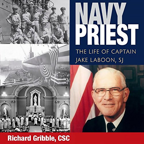Navy Priest audiobook cover art