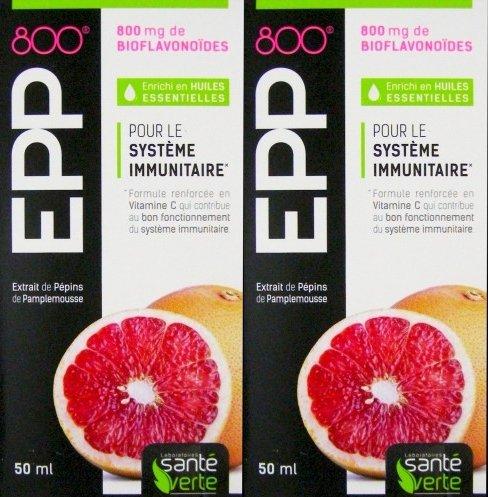 Santé Verte EPP 800 - Lote de 2