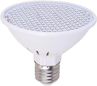 Uonlytech LED Grow Light Bulb E27 Socket 126W Full Spectrum Grow Light Plant Growth Lamp