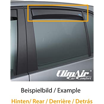 Farbe: dunkel ClimAir Windabweiser vorne -CLS0033972D -