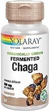 Solaray Organically Grown Fermented Chaga Mushroom 500 mg 60 VegCaps Estimated Price : £ 19,78