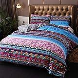 Boho-Bettbezug im Ethno-Stil, wendbar, amerikanischer
