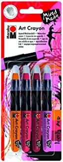 Marabu Lovely Red Mixed Media Art Crayon Set