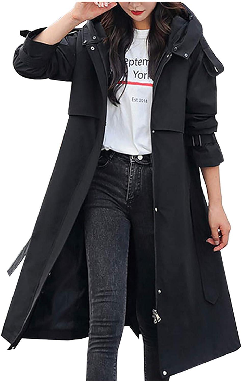 WUAI-Women Ladies Quilted Winter Coat Faux Fur Hooded Down Jacket Parka Outerwear Long Overcoat Plus Size