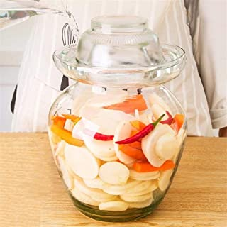 Verre transparent Thicken Pickle Jar, for Pickled Container Décapage Kimchi Chou Conteneurs, cuisine Conteneurs for organi...