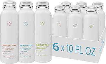 BrightFox Hydration |Still Water Variety Pack | Vitamins (B5, B6, E) Minerals (Zinc, Choline) Antioxidants & Electrolytes ...