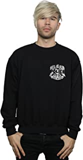 The Police Men's Illegal Records Eagle Chest Sweatshirt
