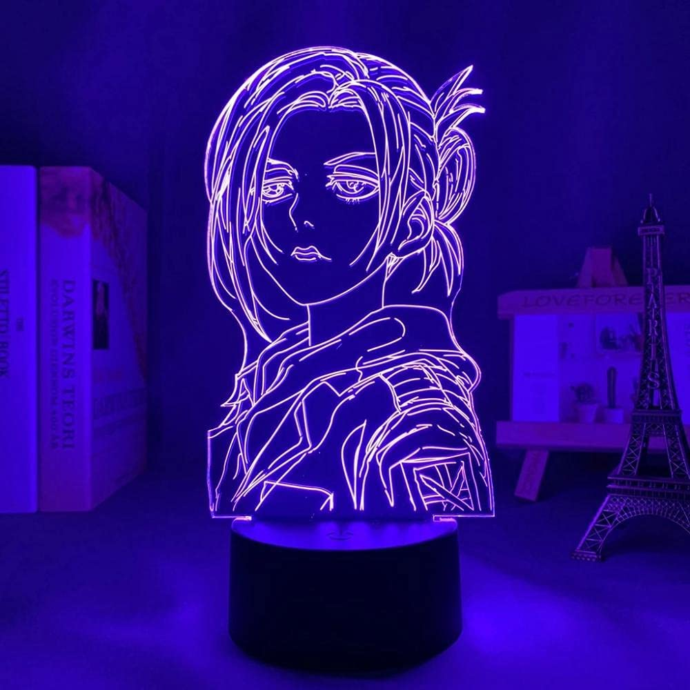 Attack on Topics TV Titan Japanese Anime Light 3D Sign Lamp Illusion 1 Sale special price LED