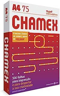 Papel A4 Chamex 210 X 297 Mm Com 500 Folhas