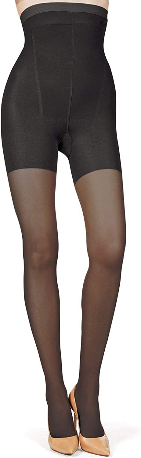 MeMoi BodySmootHers High Waisted Super Shaper Sheer Tights