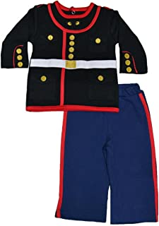 U.S Marine Corps Dress Blues Uniform Baby Outfit (0-3 Months)