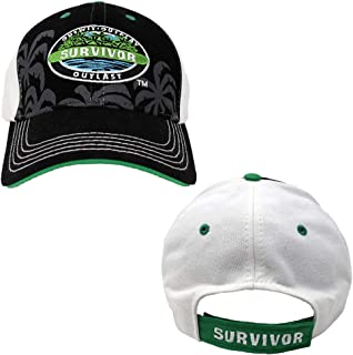 Survivor Outwit, Outplay, Outlast Baseball Cap - Official Hat of Jeff Probst As Seen On