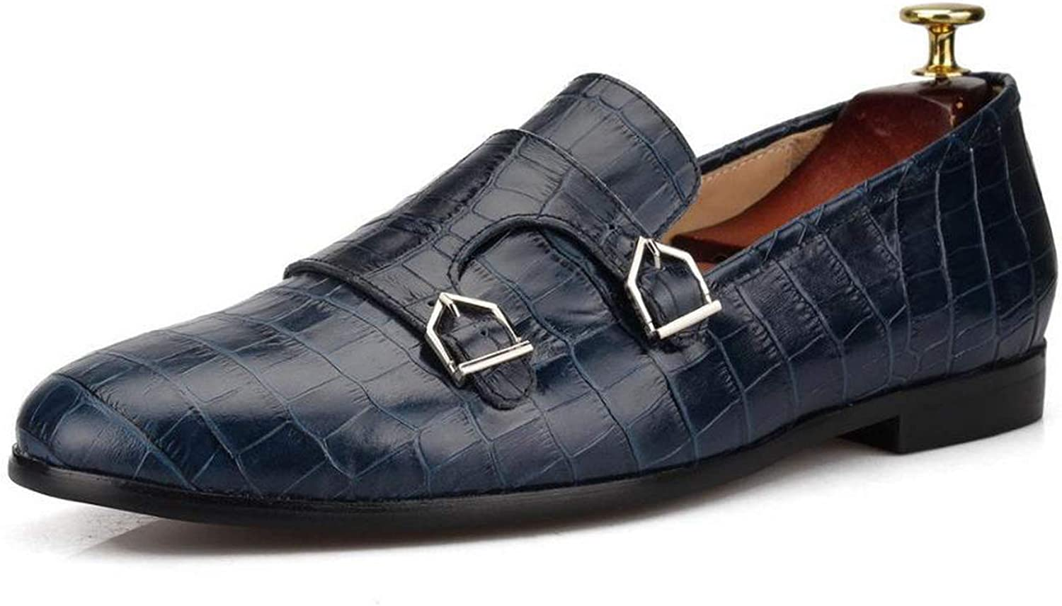 I'm good at you Men Casual Luxury Brand Genuine Leather Loafers Men Breathable Boat shoes