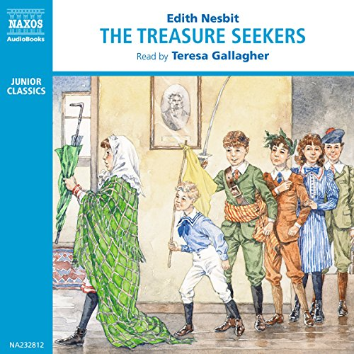 The Treasure Seekers audiobook cover art