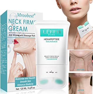 Neck Firming Cream, Neck Tightening Cream, Anti Aging & Wrinkle Neck Cream, Skin Tightening, Helps Double Chin, Turkey Nec...