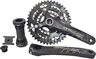 UPANBIKE Bike Crankset with Bottom Bracket for Road Bike Mountain Bicycle 8 9-Speed M430 Crank Set