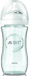 Philips Avent Natural Feeding Bottle Glass, 240 ml - Scf673/17