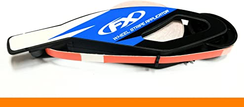 CaliBikerClub Orange Rim Tape Reflective Wheel Stripes for Up to 18