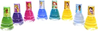 UPD Townleygirl Disney Princess Peel-Off Nail Polish Gift Set for Kids (8), 8Count