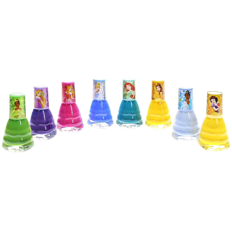 つかむ対人巧みな【Disney ディズニー】【PRINCESS プリンセス】キッズネイルセット 8ピース ドレス型 2.7ml×8個 子供用マニュキュア Nail Polish set
