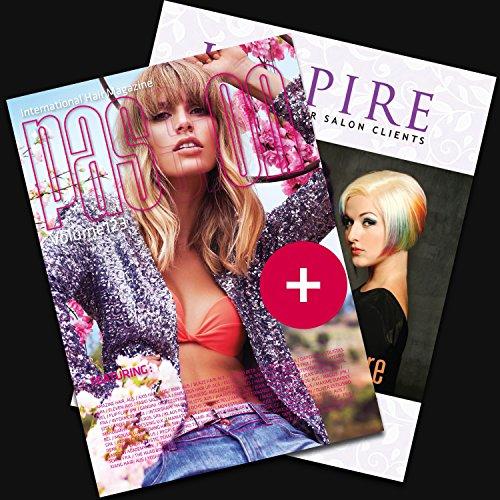 Pack Passion International Hair Magazine Vol.123 + Inspire \