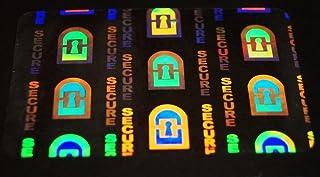 Platinum ID Cards Lot de 50 cartes d'identification autocollantes avec hologramme 0,05 Mil