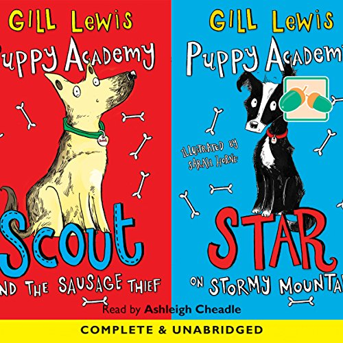 Puppy Academy audiobook cover art