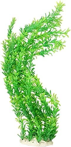 2021 Mallofusa Green Aquarium Ornament Fish Plastic outlet online sale Plant Grass for online Aquatic Tank outlet sale