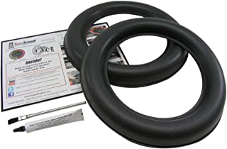 JL Audio 12 Inch 12W7 Foam Speaker Repair Kit, Super Wide Roll, 12W7, FSK-12JL-W7 (Pair)