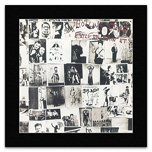 Rolling Stones–Exile On Main Street 1972Mini Poster–30x 30cm