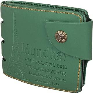 Mundkar Men's Stylish Wallet (Green)