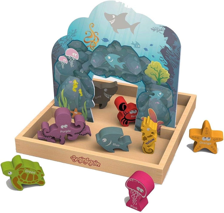 Unterwasserwelt Storybox   Holzbox mit Bühnenbild und Holzfiguren   Gewicht  1,35 kg   für Kinder ab 2 Jahren geeignet B06XYG227Q Preisrotuktion     | Nutzen Sie Materialien voll aus