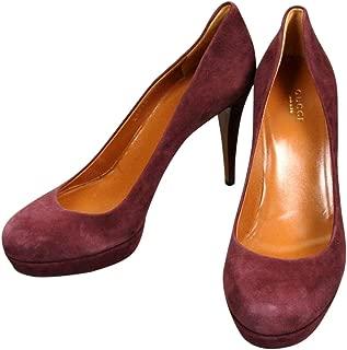 Gucci Women's Purple Suede Platform Pump Shoes 269703 C2000 6029