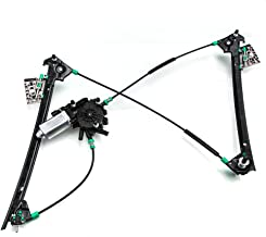 Front Right Passenger Power Window Lift Regulator with Motor Assembly Replacement fit for 1997 1998 1999 2000 2001 2002 2003 2004 Chevrolet Corvette 5.7L V8