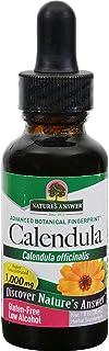 Natures Answer Calendula Flower - Herbal Supplement - Gluten Free - 1 fl oz (Pack of 2)