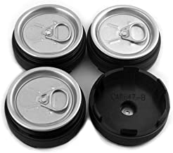 4pc 60mm/56mm Custom Can Wheel Center Caps Emblem Aluminum Silver for XXR 501 Rims
