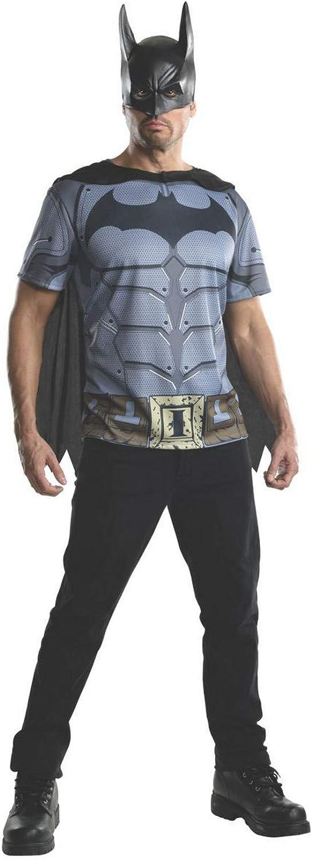 Rubie's Costume Men's Batman Top Arkham City Adult Now free shipping Max 53% OFF