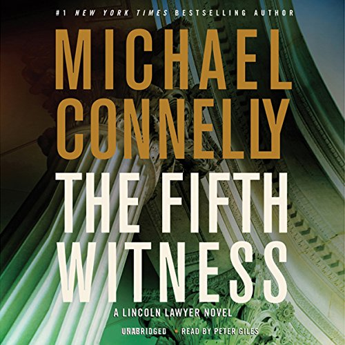 The Fifth Witness audiobook cover art