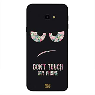 Samsung Galaxy J4 Plus Case Cover Dont Touch My Phone Floral